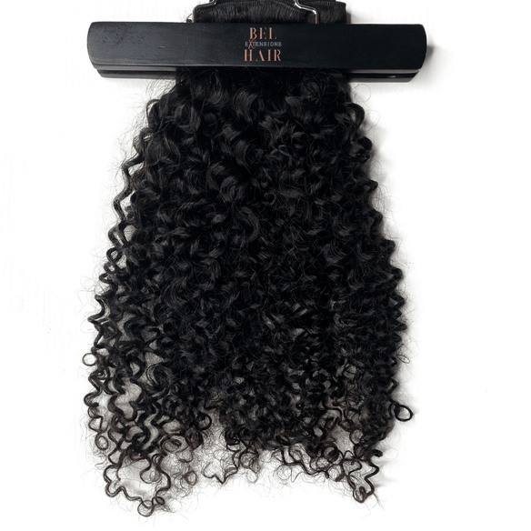 Island Curly Classic 120g Clip-In Extensions Set