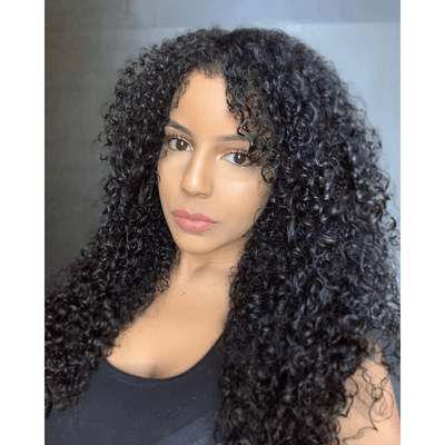 BOUGIE DEEP CURLY 320g Clip-in Set