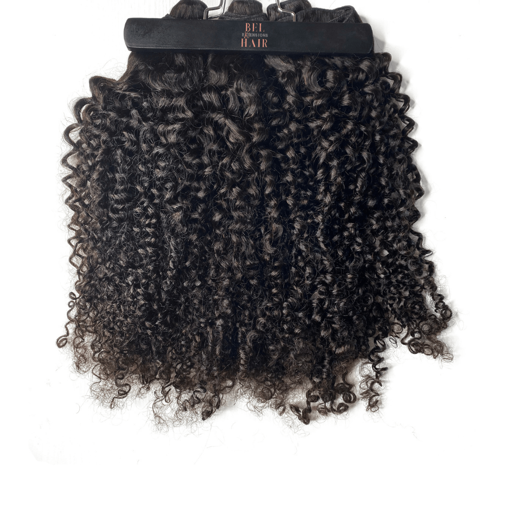 BOUGIE Island Curly 320g Clip-in Set