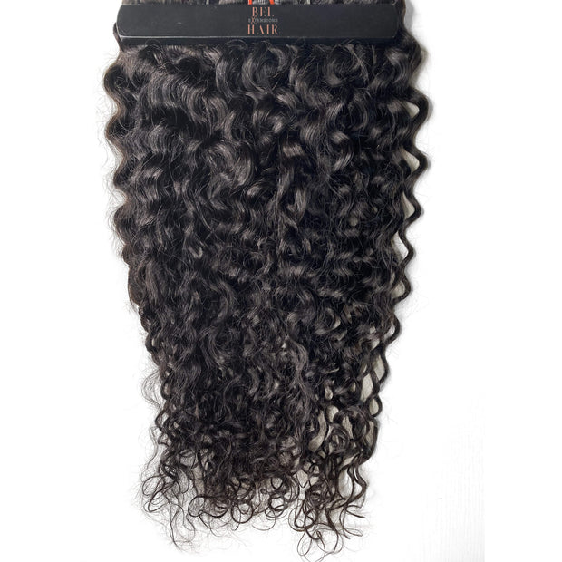 BEL-HAIR BOUGIE 320g EXOTIC CURLY Clip-in Set