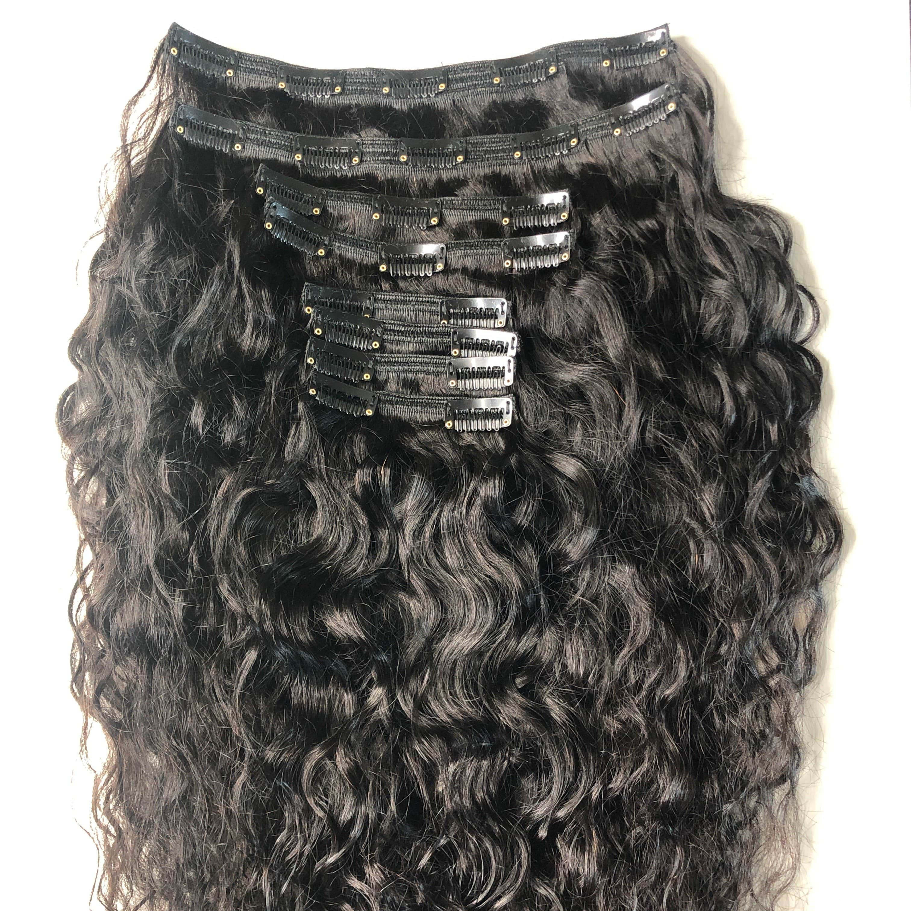 Beach Wavy LUX 200g Clip-In Extensions Set