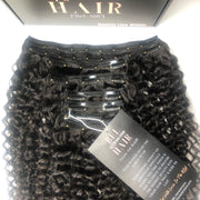 Island Curly LUX 200g Clip-In Extensions Set