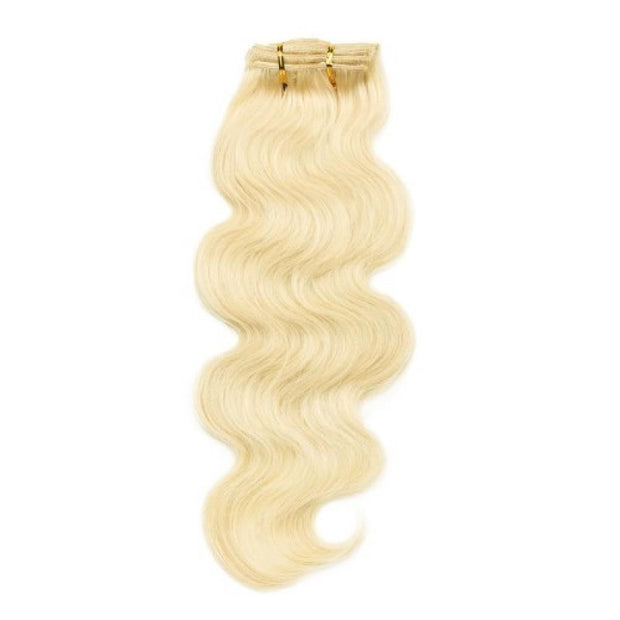 Body Wave Blonde Classic 120g Clip-In Extensions Set