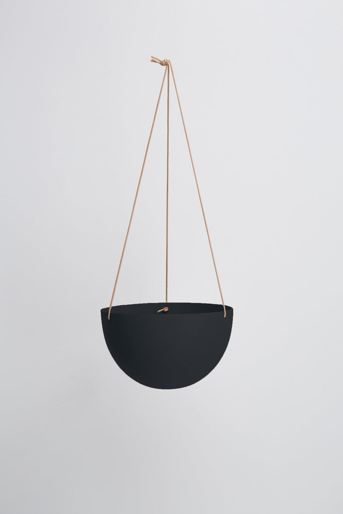 Dome Hanging Pot - Midnight