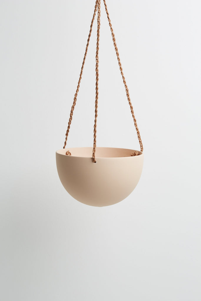 Dome Hanging Pot - Salt