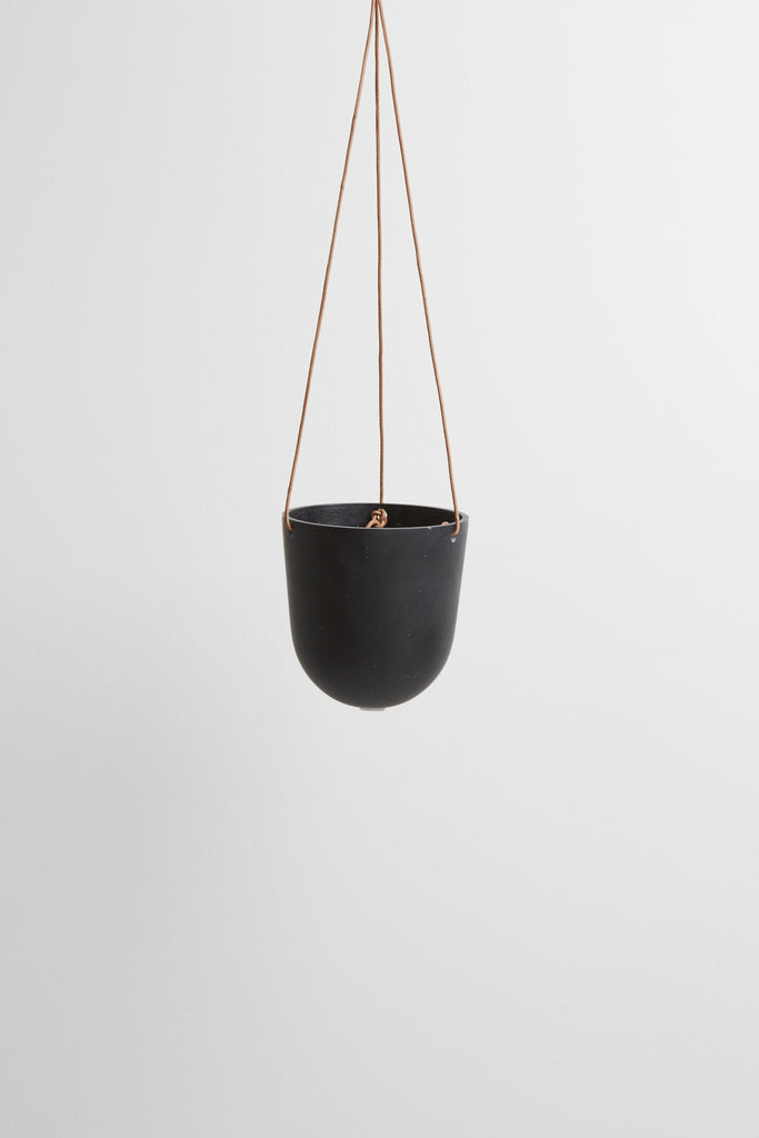 Block Colour Hanging Pot - Midnight