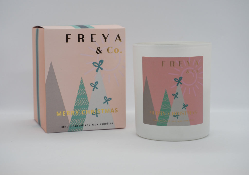 Freya & Co Christmas Candle - Vanilla spice