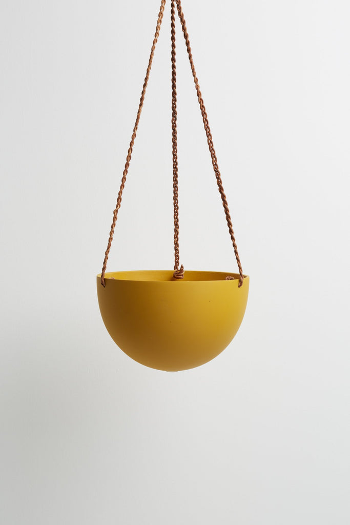 Dome Hanging Pot - Golden