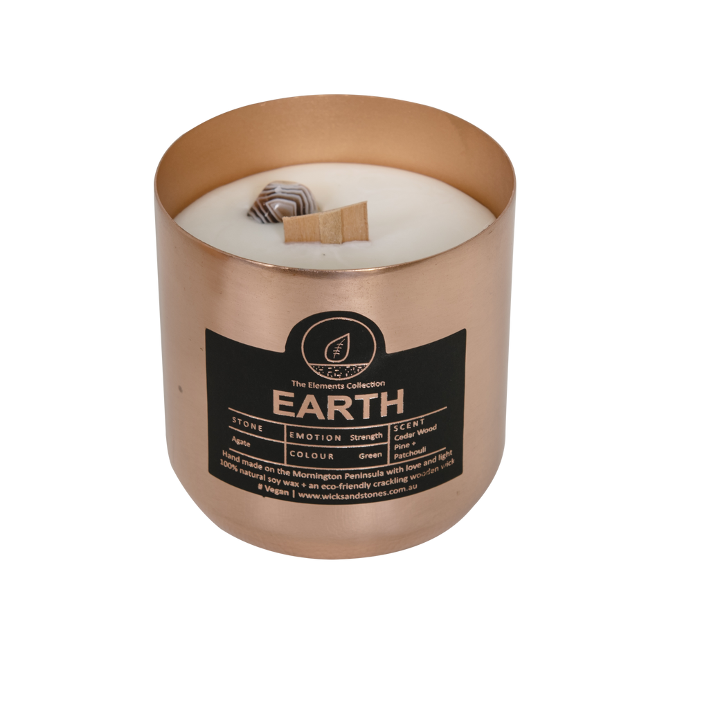 Earth. Cedar Wood, Pine + Patchouli - AGATE