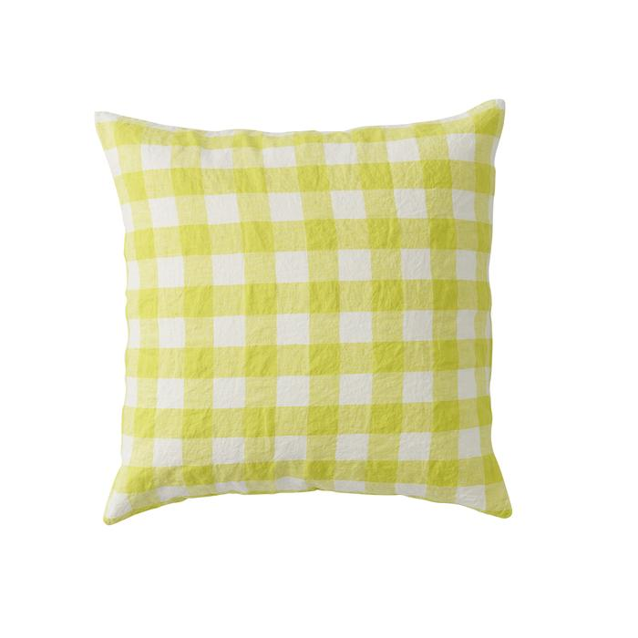 Society of Wanderers - Cushion - Limoncello Ginham