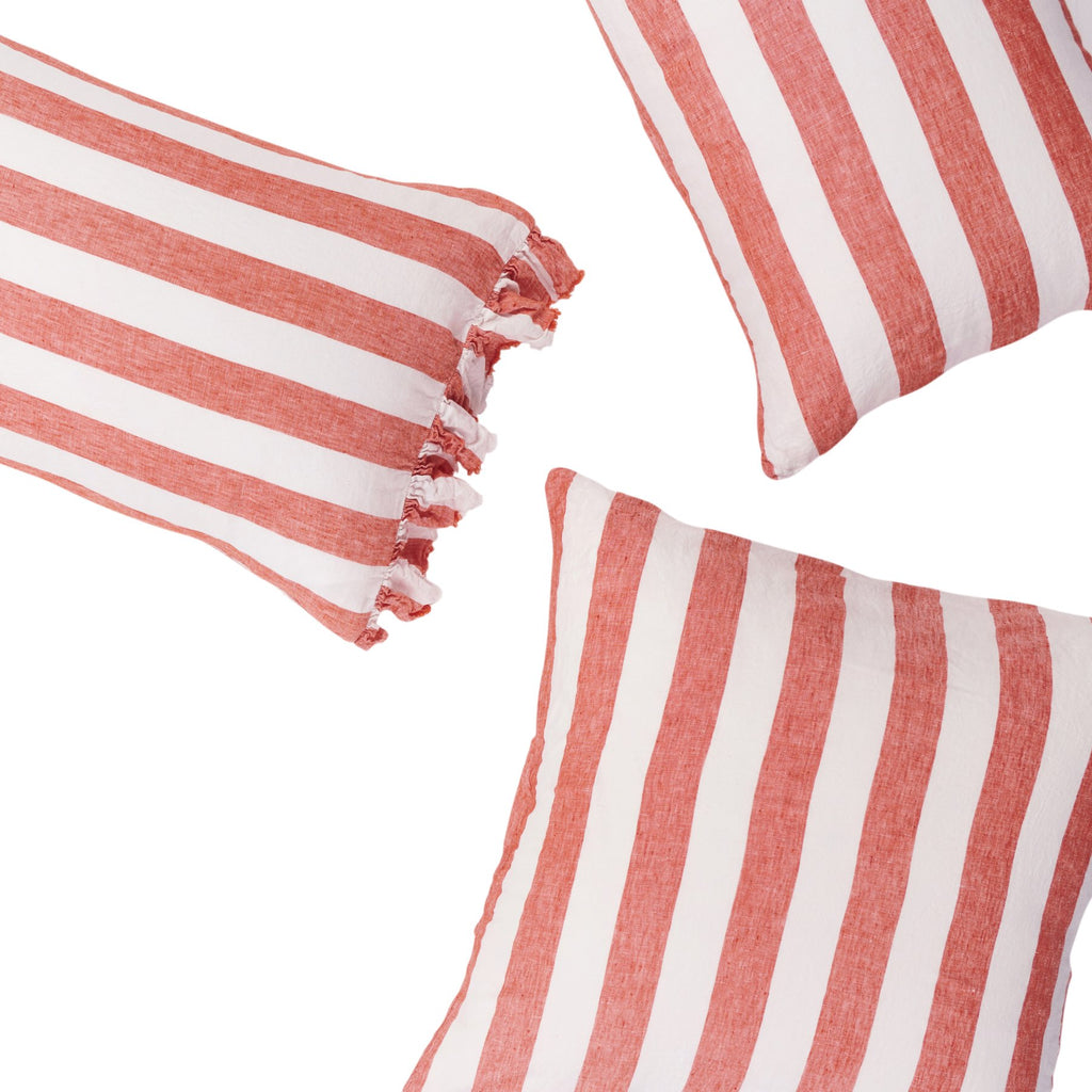 CHERRY STRIPE *new ~ Pillowcase