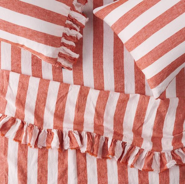 CHERRY STRIPE *new ~ Sheets