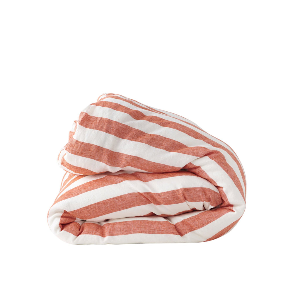 CHERRY STRIPE *new ~ Duvet Cover
