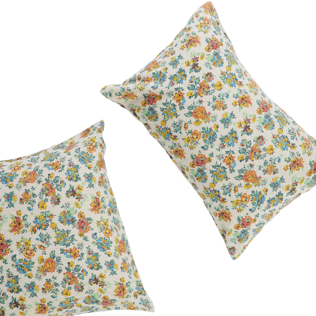 FLORENCE FLORAL *new ~ Pillowcase