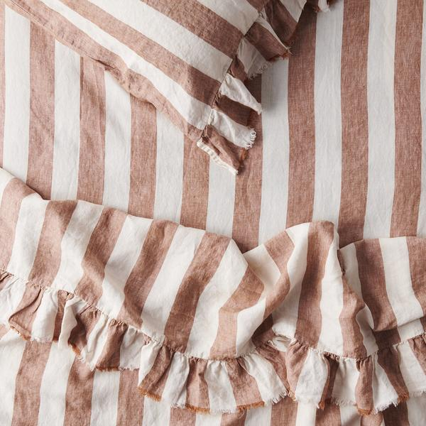 TOBACCO STRIPE ~ Sheets
