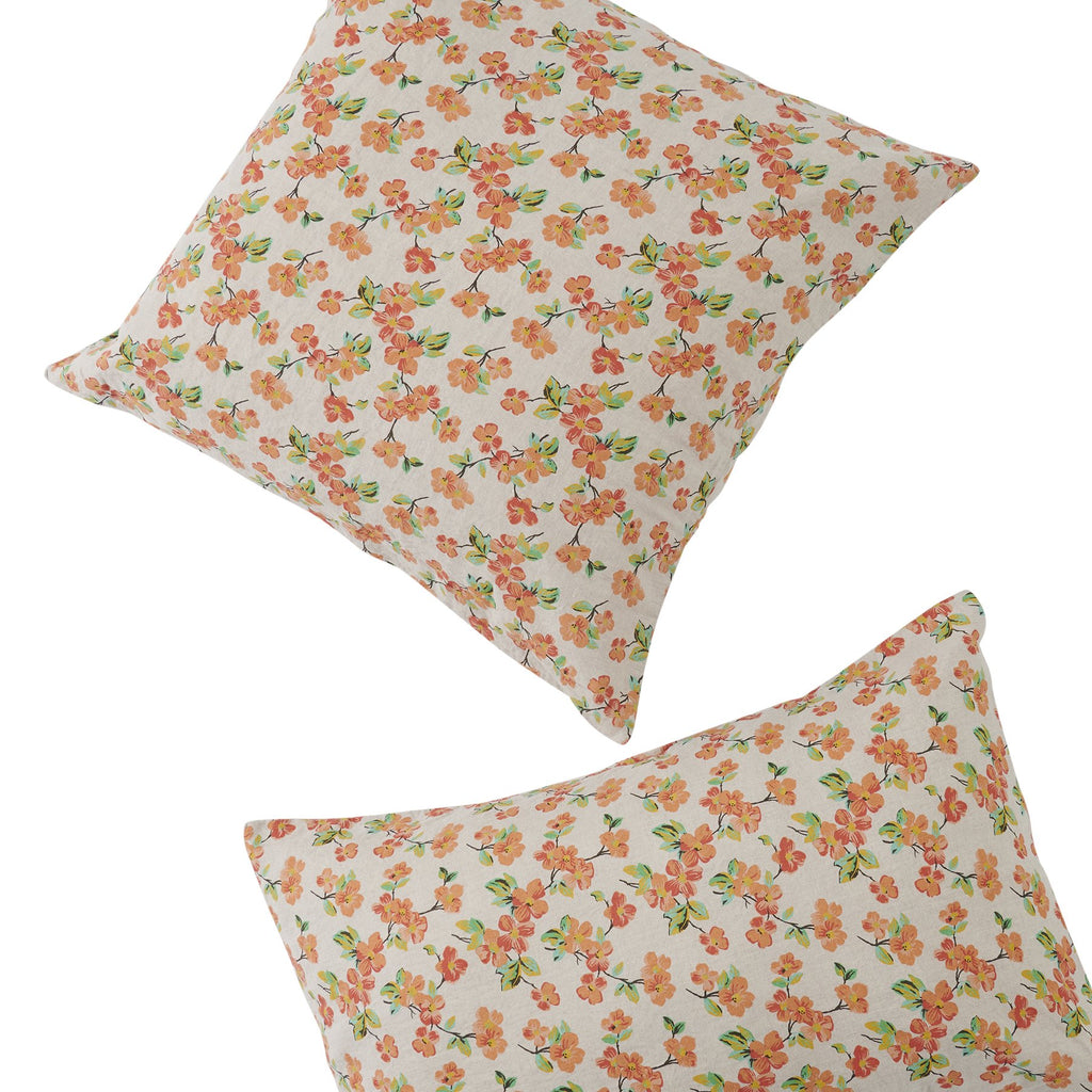 ELMA FLORAL *new ~ Pillowcase