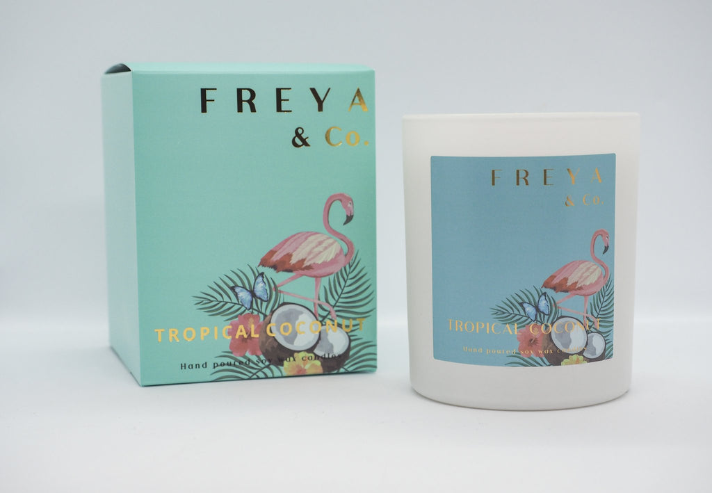 Freya & Co Classic Collection Candles - Tropical & Coconut