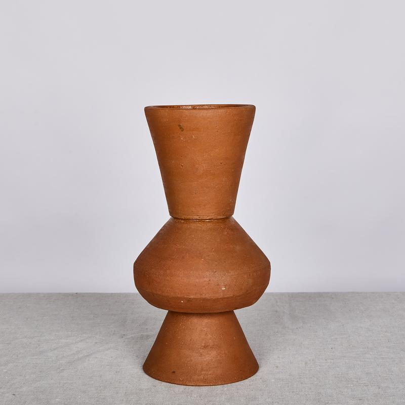 Bonnie and Neil 35cm Terracotta Vase