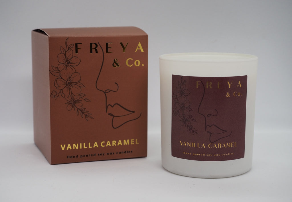 Freya & Co Classic Collection Candle - Vanilla Caramel