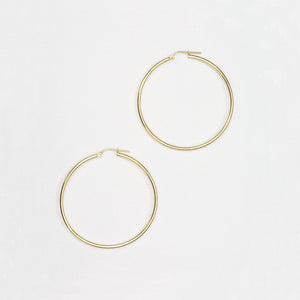 Nitten Hoop Earrings