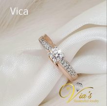 Load image into Gallery viewer, Vica Engagement Ring