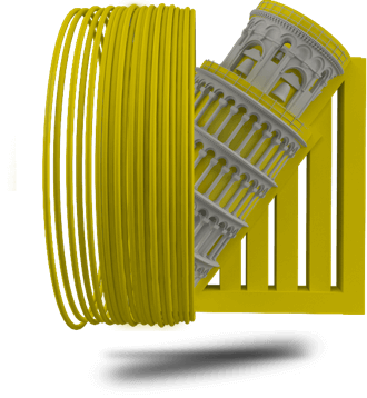 TreeD STIRON HIPS Filament 1,75mm 1000g - 3D Material-Shop