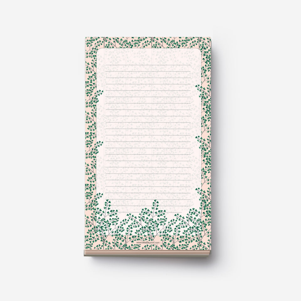 BLOSSOM FLOWERS notepad