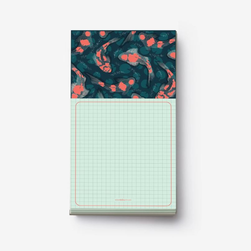 JAPANESE KOI FISH notepad