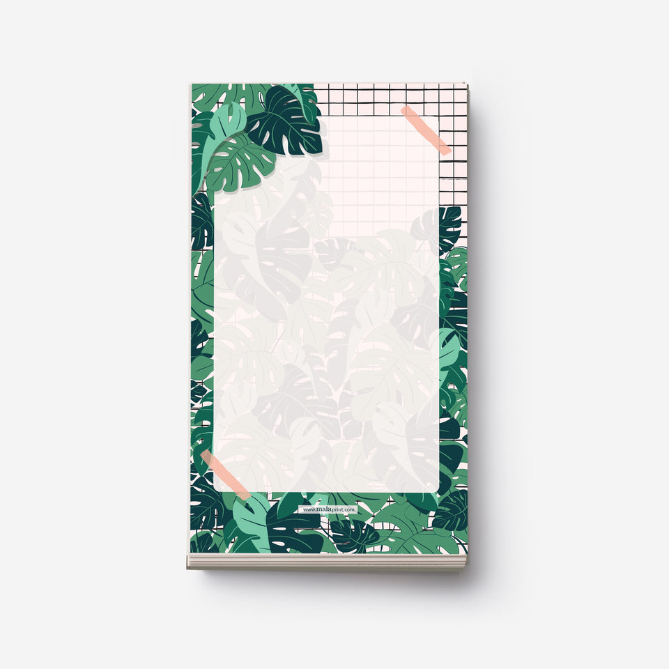 MONSTERA PLANT notepad