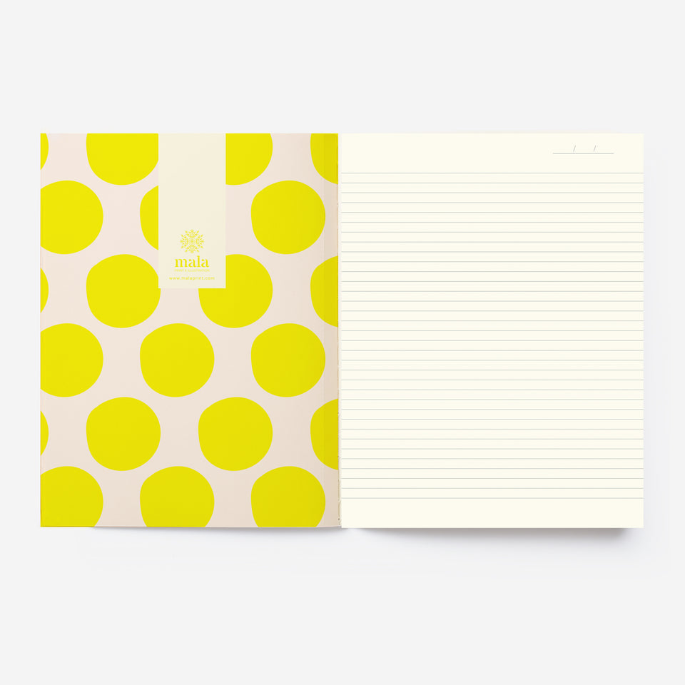 COLORFUL LINES GRID A5 notebook