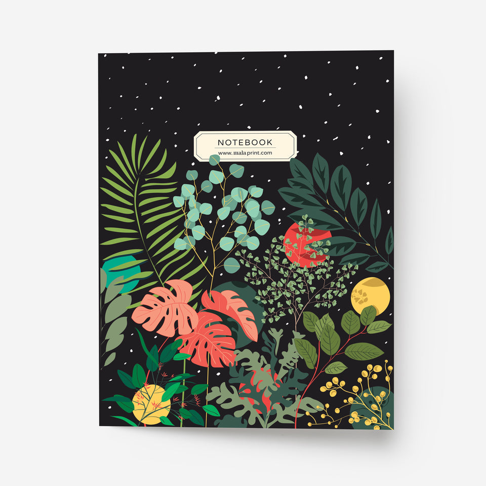 STARRY NIGHT A5 notebook