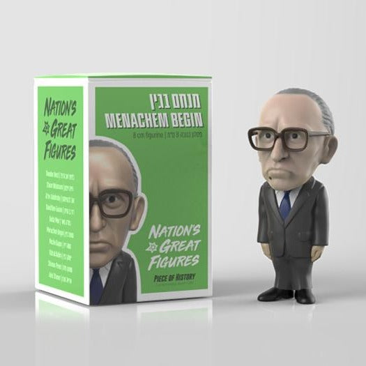 Menachem Begin Figurine