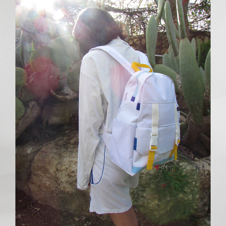 Hill Top Backpack Optic White