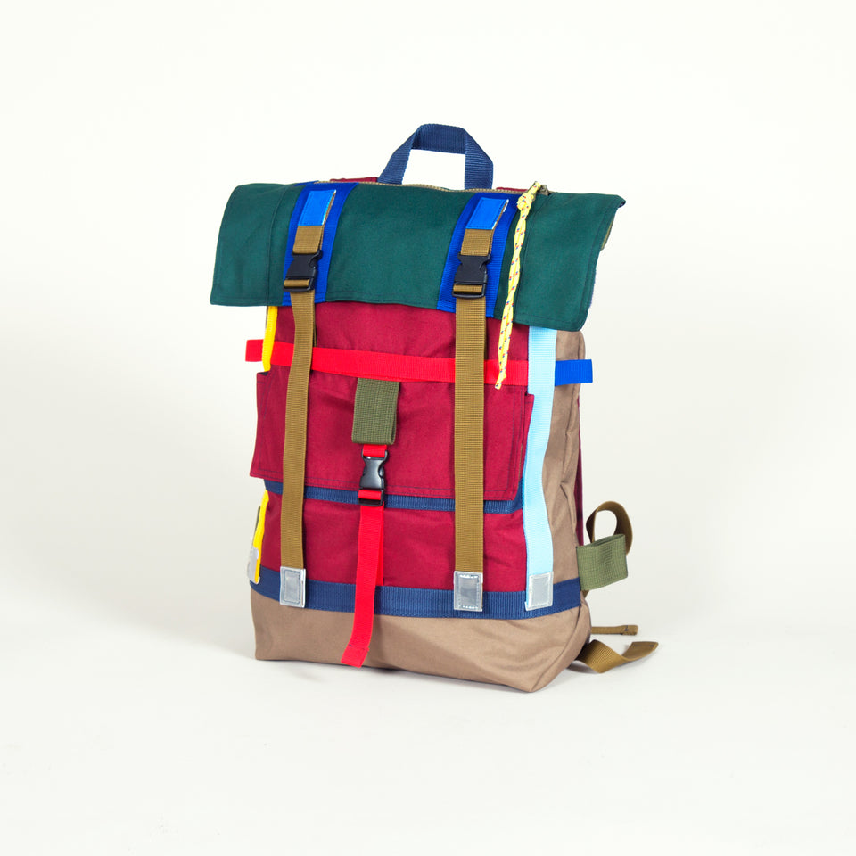 Totem Backpack Forest / Burgundy