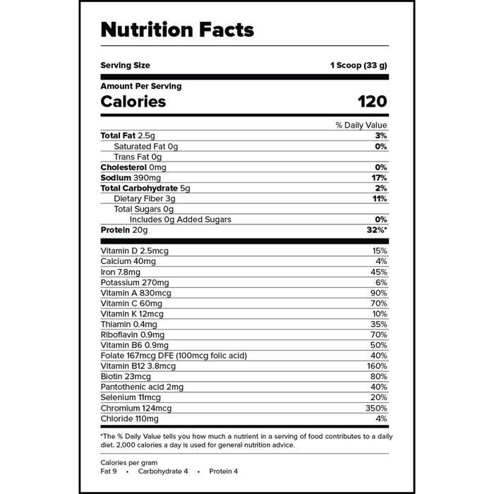 OUTCAST PROTEIN POWDER SAMPLE - 1 SERVINGS (MINT CHOCOLATE CHIP)
