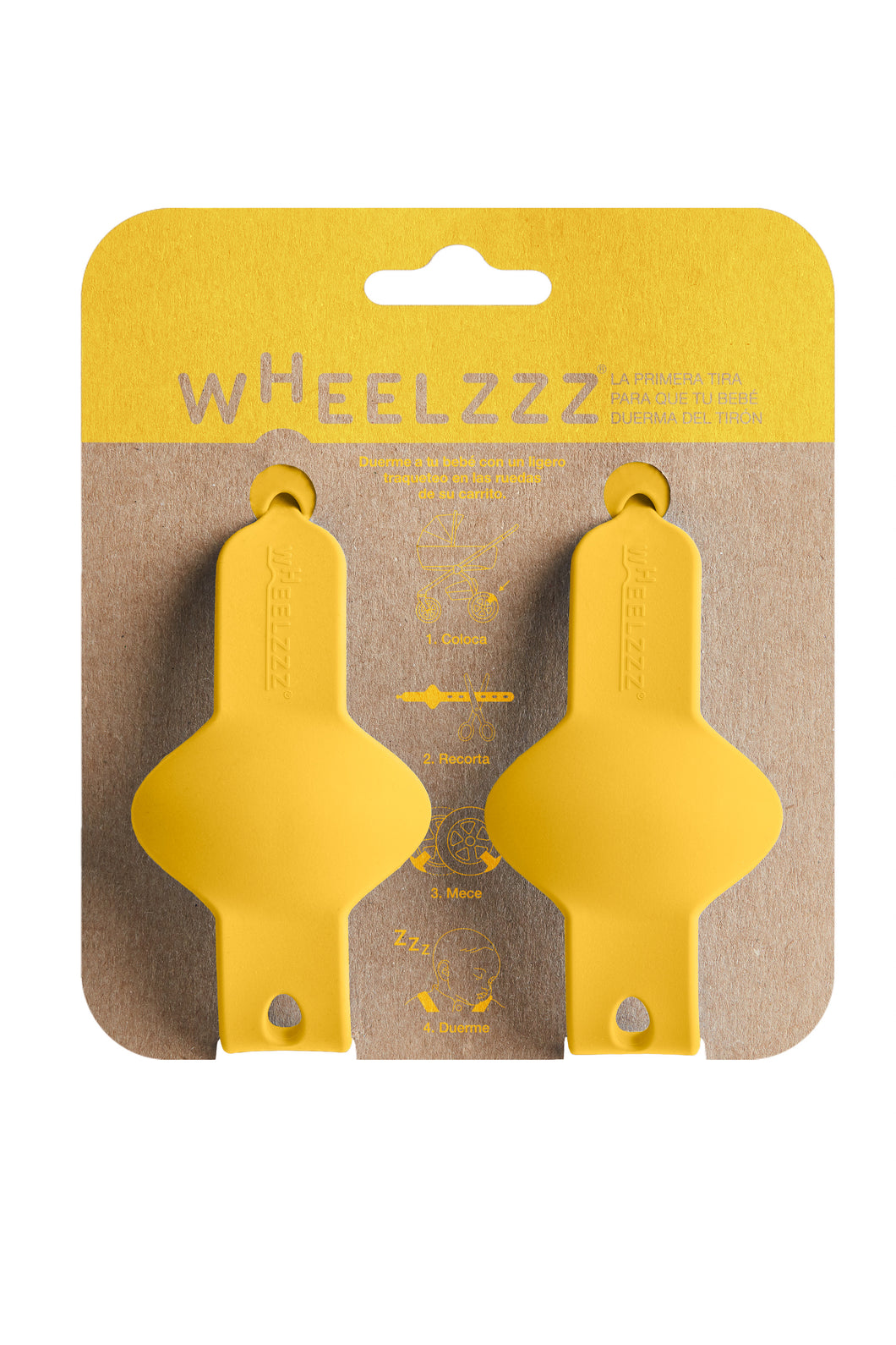 Wheelzzz® Duo - Emma Yellow