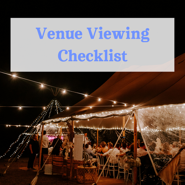 Wedshed eGuide: Venue Viewing Checklist