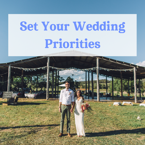 Wedshed eGuide: Set Your Wedding Priorities