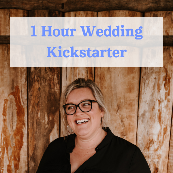 1 Hour Wedding Kickstarter