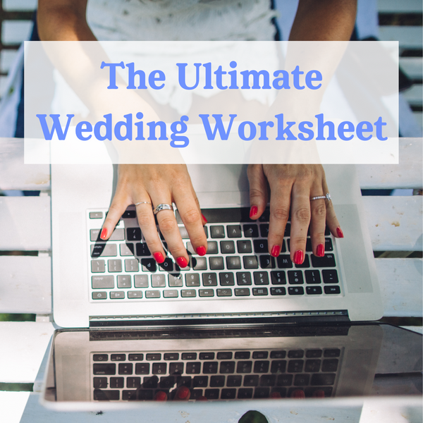 The Ultimate Wedding Worksheet by Wedshed