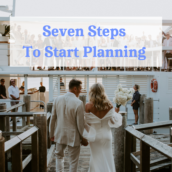 Wedshed eGuide: Seven Steps to Start Your Planning