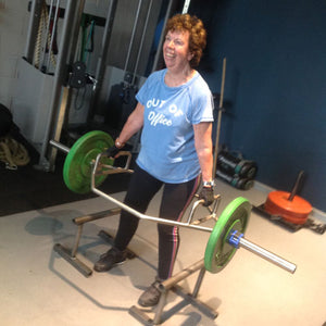 Sandra's testimonial about the Girls Who Lift classes