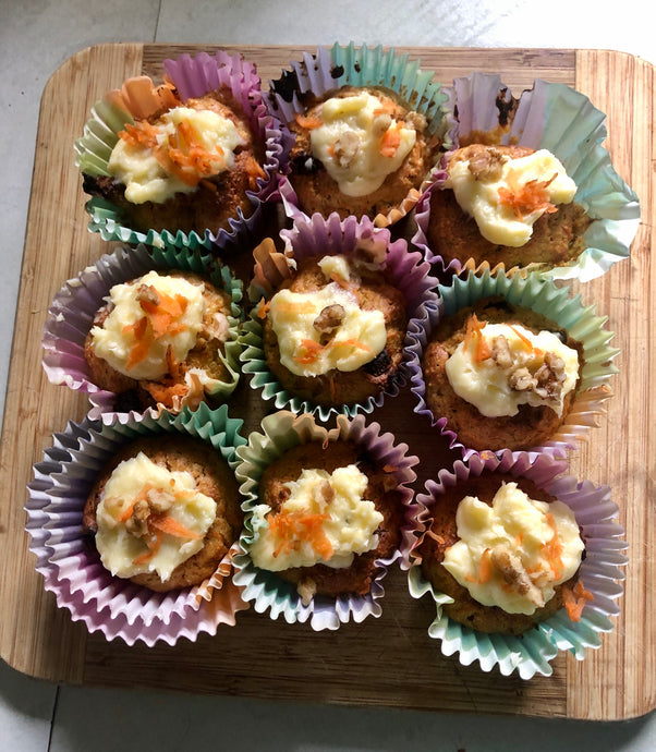 Carrot Cake Muffins 🥕