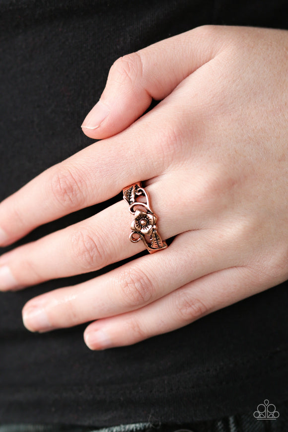 Paparazzi Accessories Island Haven - Copper Ring - Mel's Pretty It Up Boutique