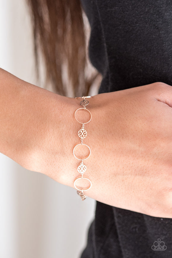 Paparazzi Accessories Dainty Delicacy - Rose Gold Bracelet - Mel's Pretty It Up Boutique