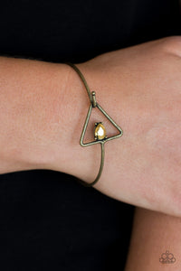 Paparazzi Accessories Gorgeously Giza - Brass Bracelet - Mel's Pretty It Up Boutique