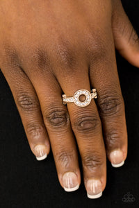 Paparazzi Accessories The One and Only Sparkle - Gold Ring - Mel's Pretty It Up Boutique