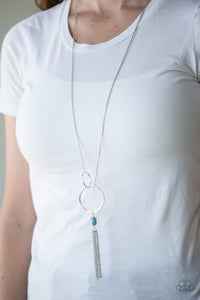 Paparazzi Accessories Offshore Odyssey - Blue Necklace - Mel's Pretty It Up Boutique