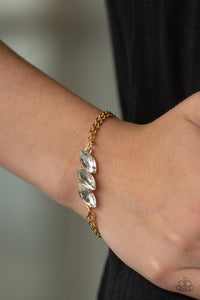 Paparazzi Accessories Pretty Priceless - Gold Bracelet - Mel's Pretty It Up Boutique
