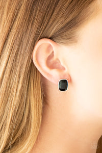 Paparazzi Accessories Incredibly Iconic - Black Earring - Mel's Pretty It Up Boutique